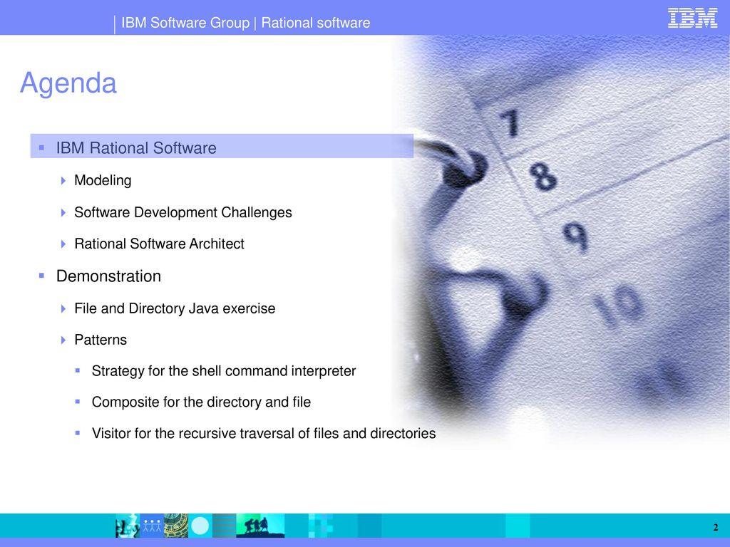 Ibm rational software architect an integrated platform for agenda ibm rational software demonstration modeling baditri Gallery