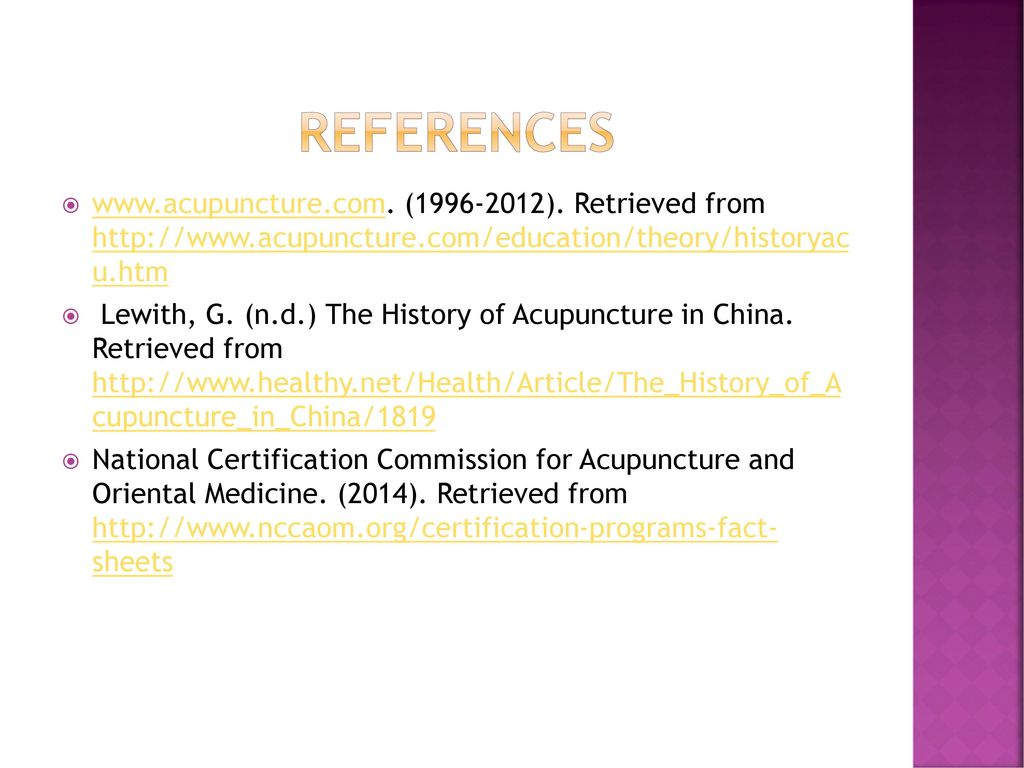 Lesson three acupuncture ppt download references acupuncture 1996 2012 retrieved from http 1betcityfo Images