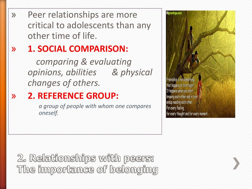 the importance of adolescent dating relationships Empirical research adolescents online: the importance of internet activity choices to salient relationships julie j blais Æ wendy m craig Æ debra pepler .