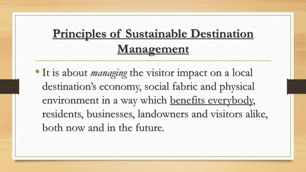 principles of sustainable tourism a literature review G-dae working paper no 00-04: basic principles of sustainable development 1 this paper will appear in the encyclopedia of life support systems , sponsored by the united nations educational, scientific, and cultural organization (unesco.