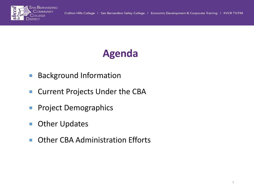 Community benefits agreement cba status update ppt download community benefits agreement cba status update 2017 2 agenda background information platinumwayz