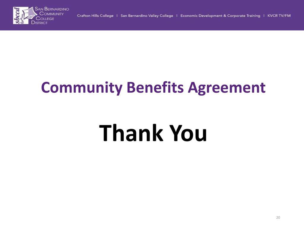 Community benefits agreement cba status update ppt download community benefits agreement platinumwayz