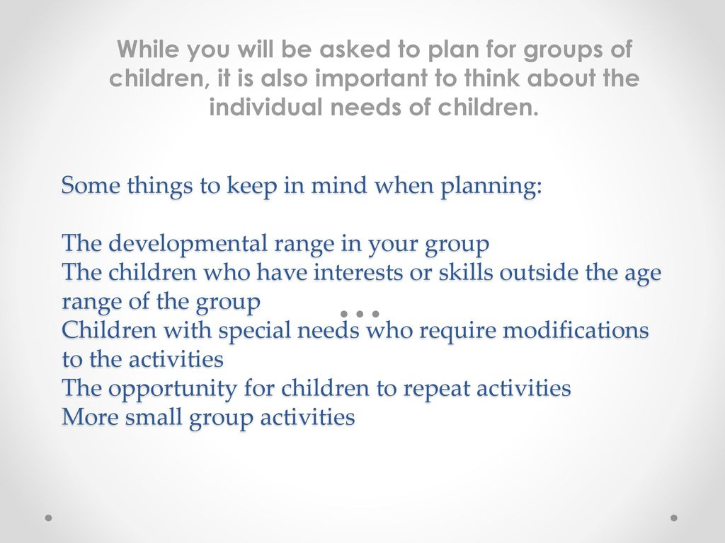 care planning for individual needs essay Individualized education plan essays look at the educational document special needs individualized education plan dyscalculia research papers examine what happens to individuals who suffer with a learning disability that makes it difficult to comprehend mathematics.