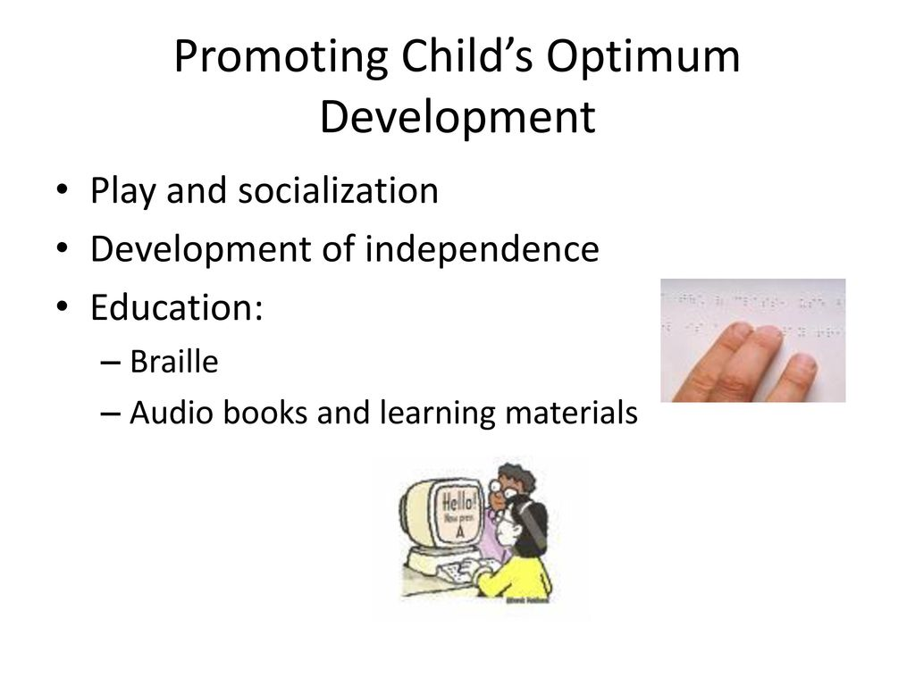 promoting development and learning Daily physical activity should be promoted from birth infants and toddlers learn  through play, developing gross motor, socio-emotional, and cognitive skills.