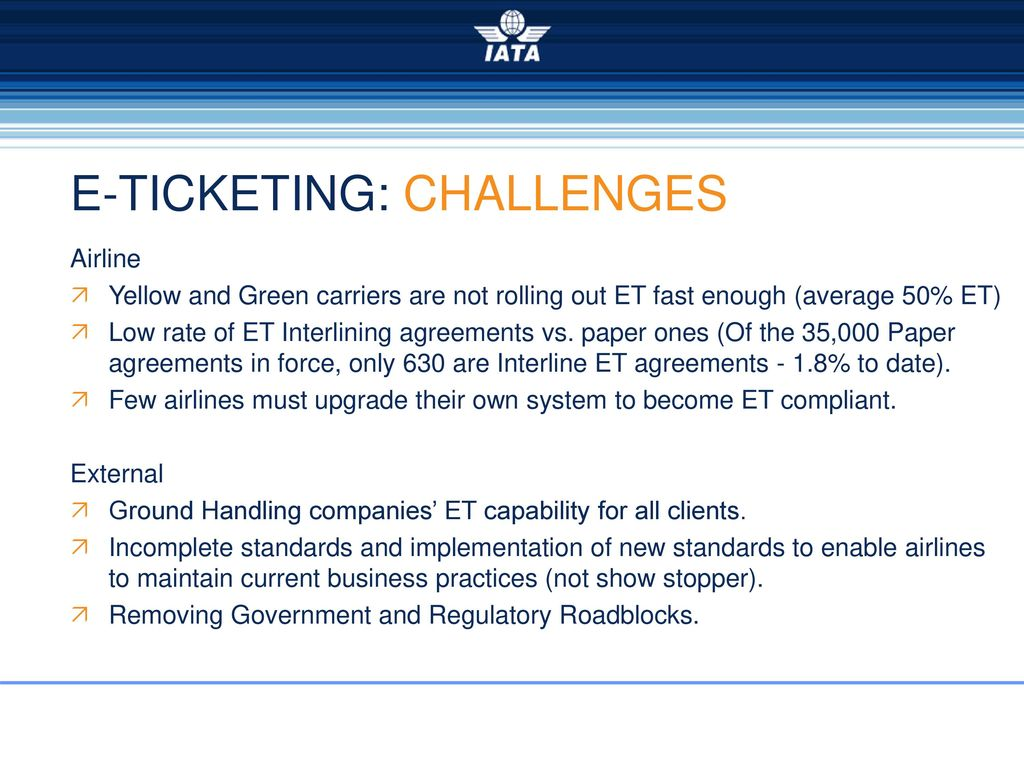 Simplifying the business electronic ticketing ppt download 24 e ticketing challenges platinumwayz