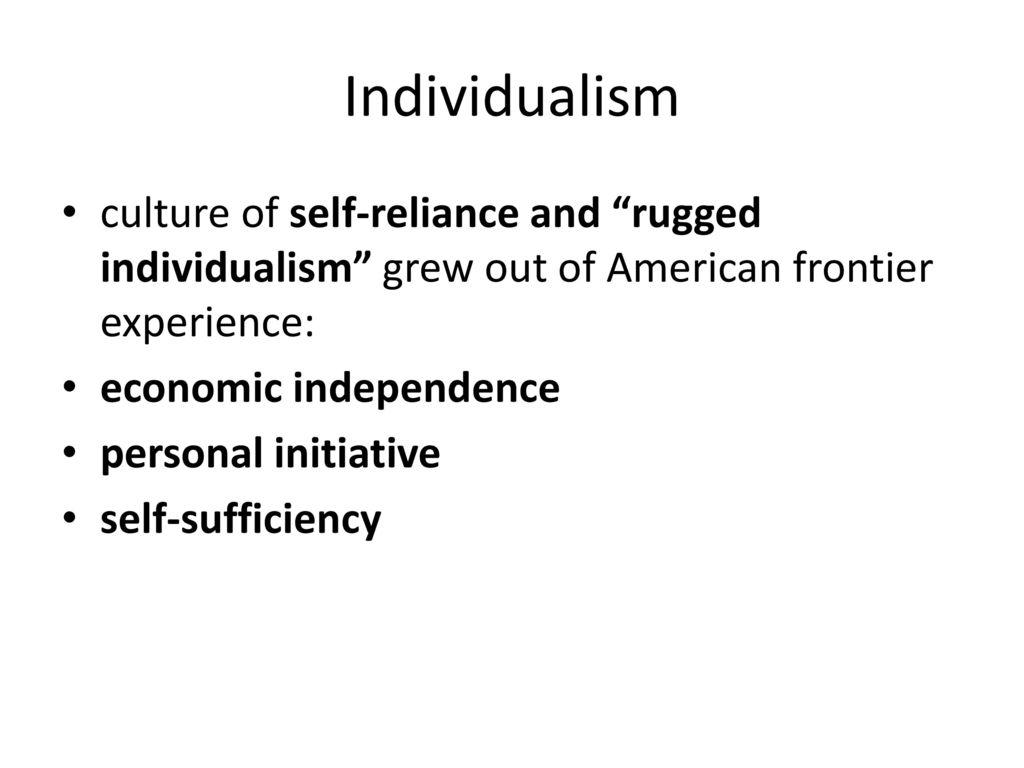33 Individualism Culture