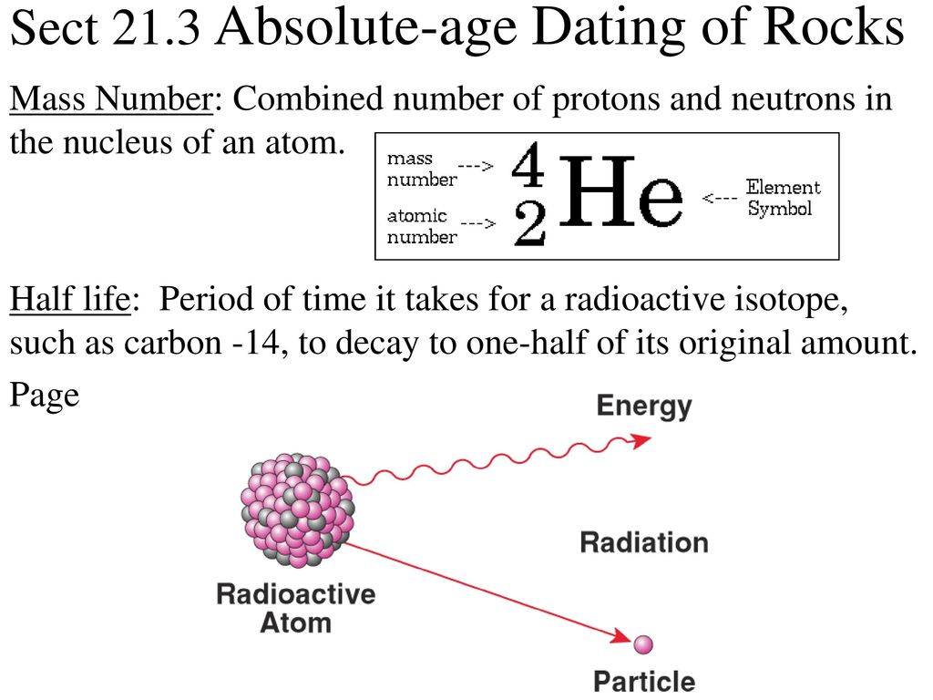 Section 21.3 Perfect Age Dating Of Rocks