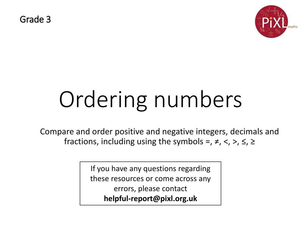 Ordering numbers grade 3 ppt video online download ordering numbers grade 3 biocorpaavc Image collections