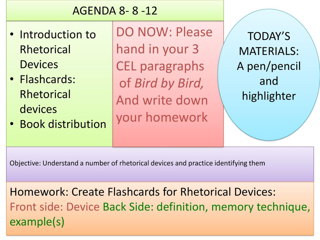 an introduction to identifying rhetorical devices This is a strong rhetorical technique that can also be used to build a theme in a speech or poem  identifying poetic devices worksheet - students identify.