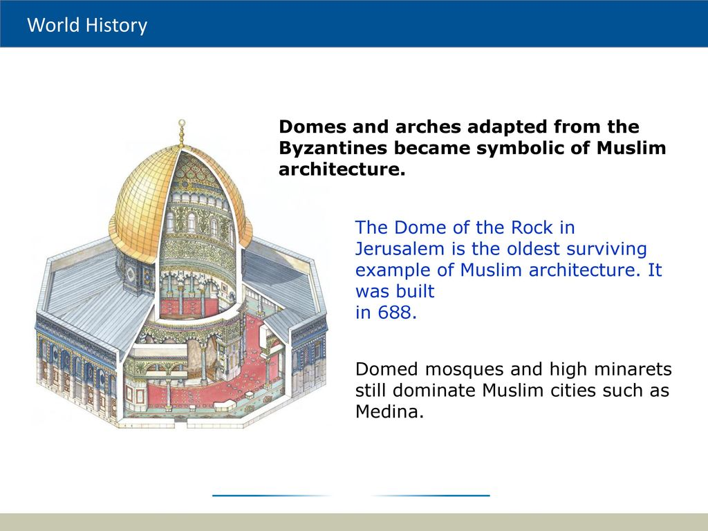 The muslim world tolerance of other cultures and a focus on 69 domes pooptronica