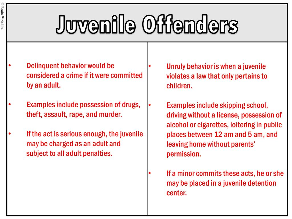 juvenile crime speech Free essay: one of the biggest problems which the united states is faced with is juvenile crime the reason experts feel juvenile's commit crimes is because.