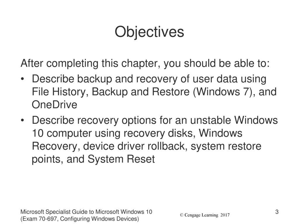 restore onedrive on windows 10