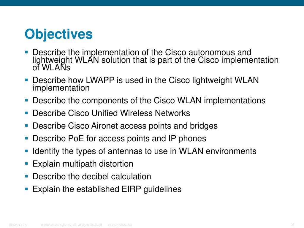 Implementing Wireless LANs - ppt download