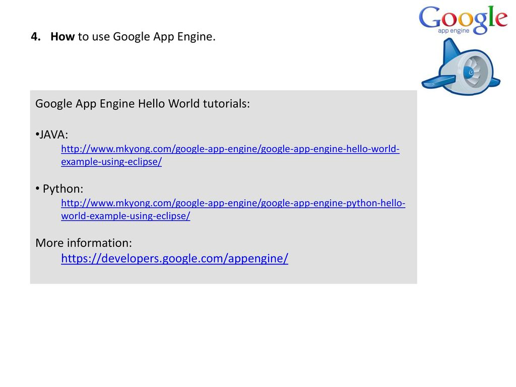 Platform as a service paas ppt download how to use google app engine baditri Choice Image