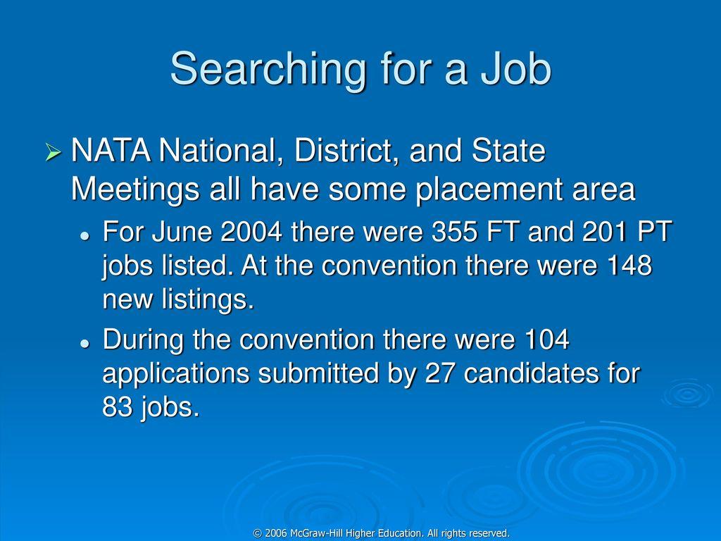 nata job opportunities
