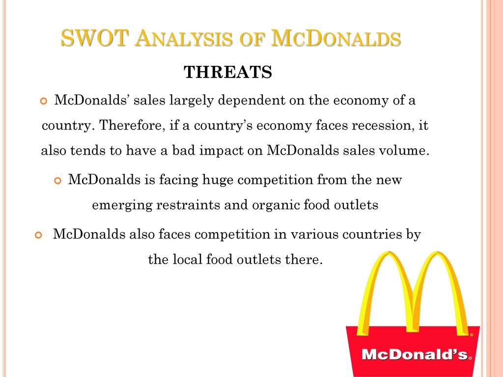 analysis of mcdonald How many mcdonald's are there in the us discover all statistics and data on mcdonald's now on statistacom.