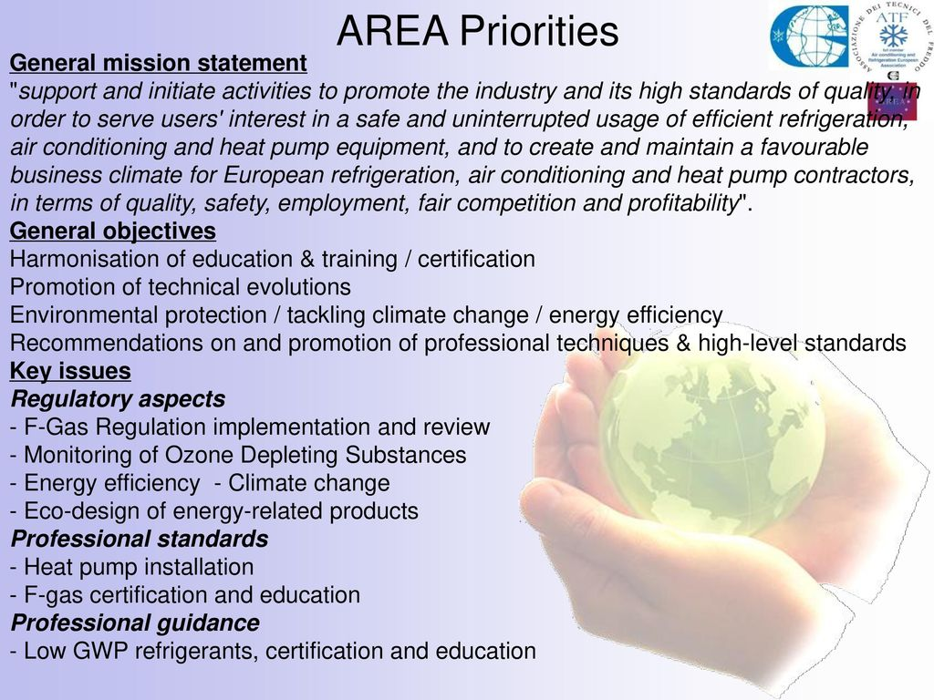 Webinar 19th march 2013 training and certification schemes for 4 area priorities general mission statement xflitez Choice Image