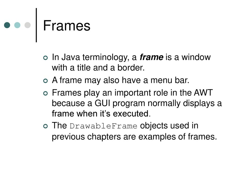 Awt tutorial in java with examples image collections any awt in java tutorial with examples choice image any tutorial csc 205 programming ii lecture 5 baditri Gallery