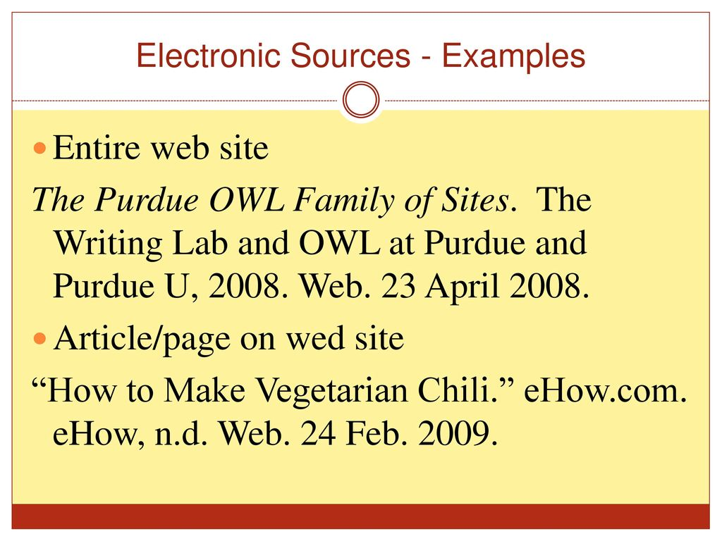mla and apa writing examples ehow