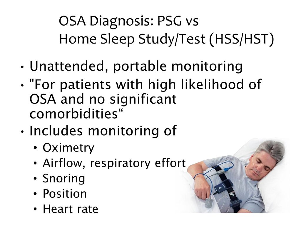 Type 3 Guidelines for Home Sleep Study - CleveMed