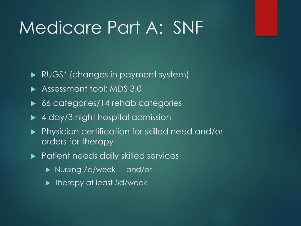 Basics of healthcare financing and reimbursement ppt download 15 medicare xflitez Choice Image