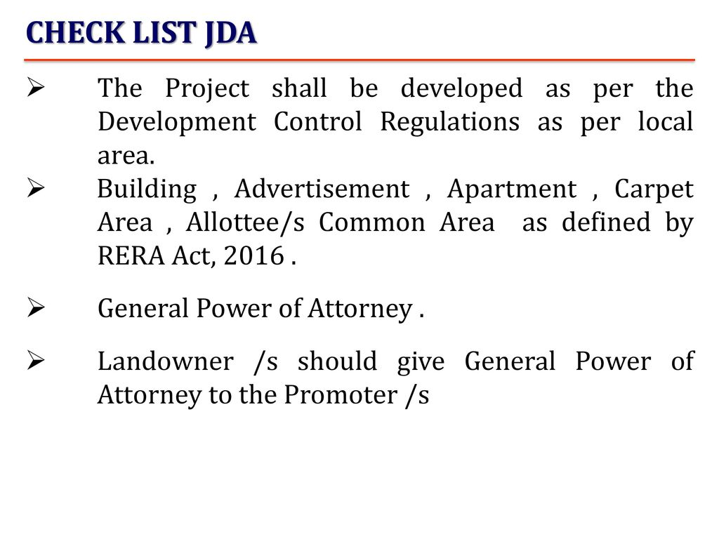 Documents and agreement for sale ppt download check list jda the project shall be developed as per the development control regulations as per platinumwayz