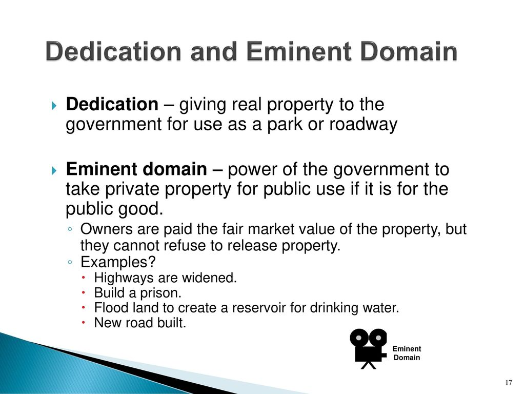 The Government Cannot Take Private Property For Public Use