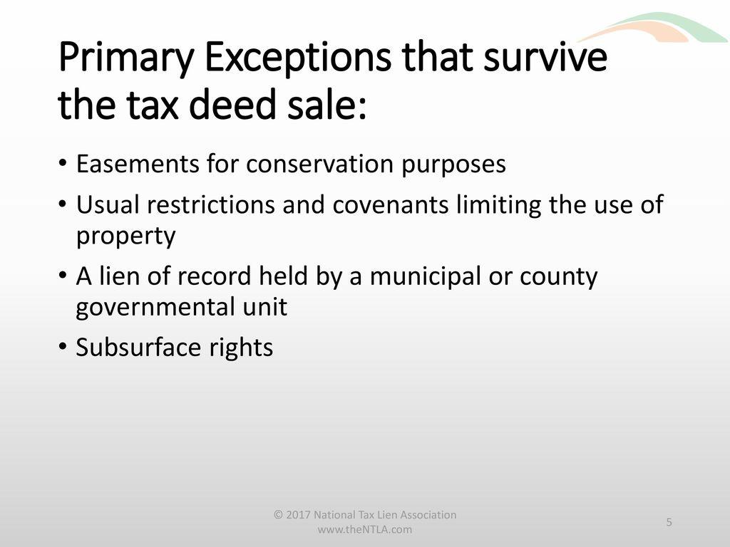 Florida Tax Deeds Advanced Issues Paul A Krasker Esq