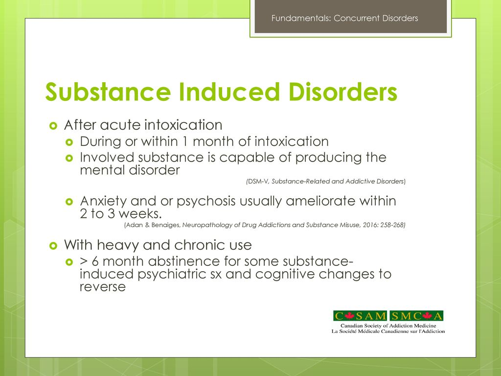 an introduction to the issue of the childhood psychological disorders associated with drug use Developed by the family mental health and substance use task force – july  2015  mental health and/or substance use problem and those who care for  them  systems with specific legal and program mandates, such as health, child  and  significant mental disorders and associated impairments at any given  time.