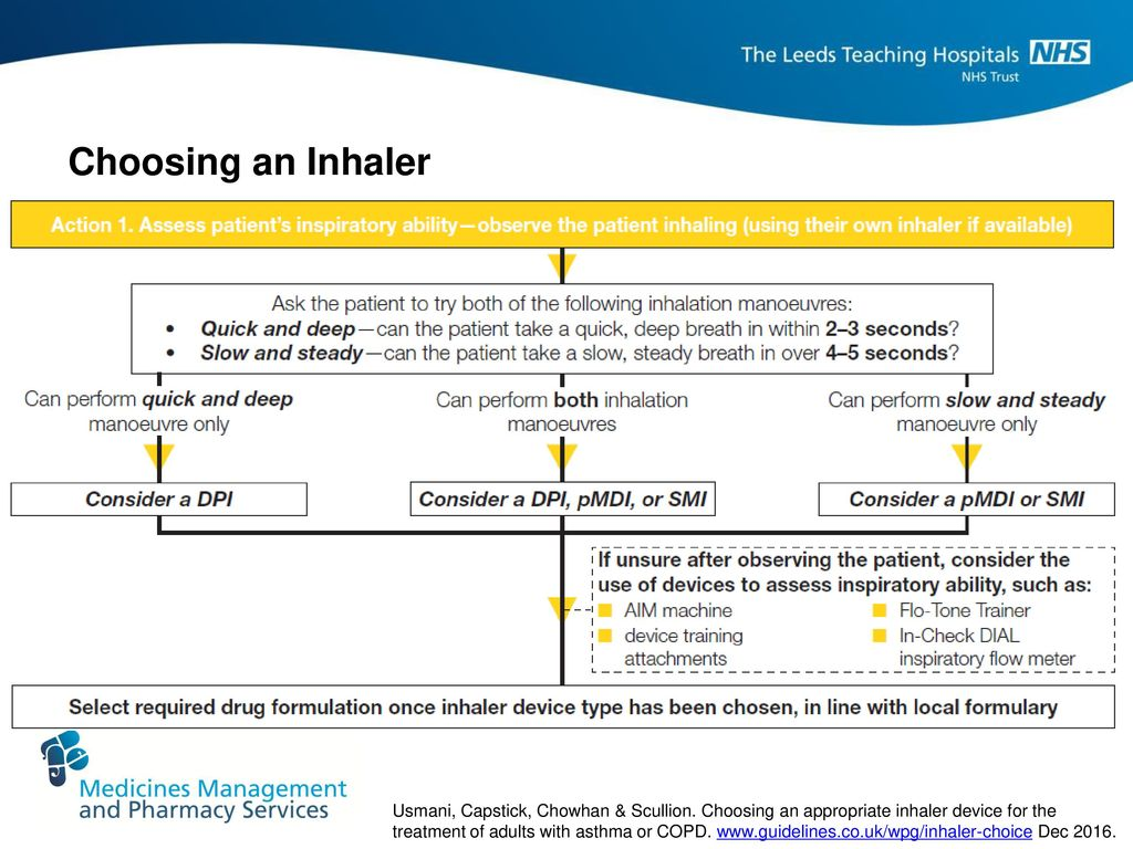 Optimising The Use Of Inhalers In Copd Ppt Download