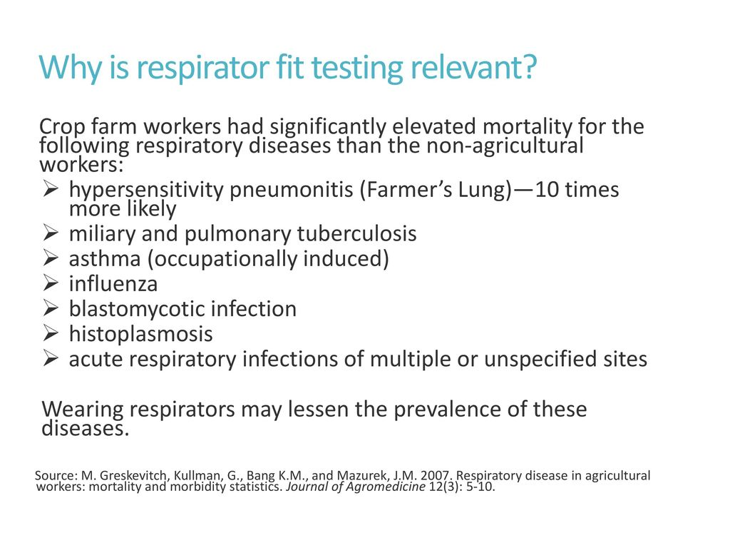 Respirator fit testing and medical clearance ppt download why is respirator fit testing relevant 1betcityfo Choice Image