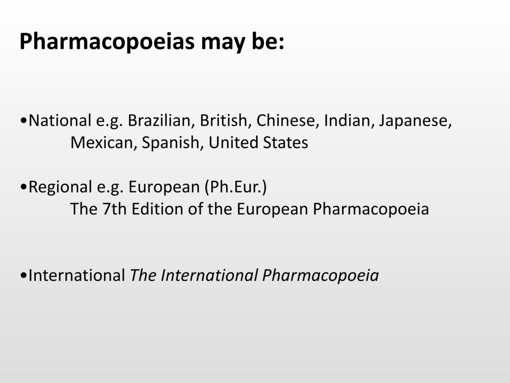 Introduction to the study of pharmacology ppt download 53 pharmacopoeias fandeluxe Choice Image
