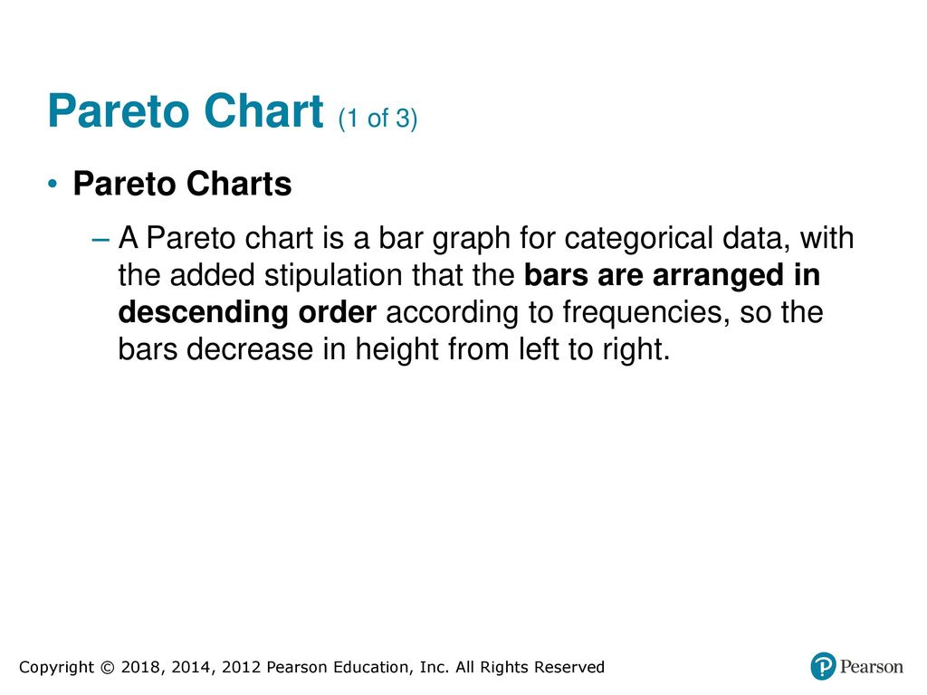 Elementary statistics ppt download 12 pareto chart nvjuhfo Images