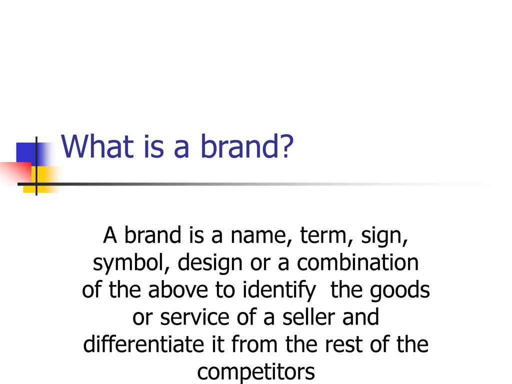 Brand management ppt download what is a brand buycottarizona