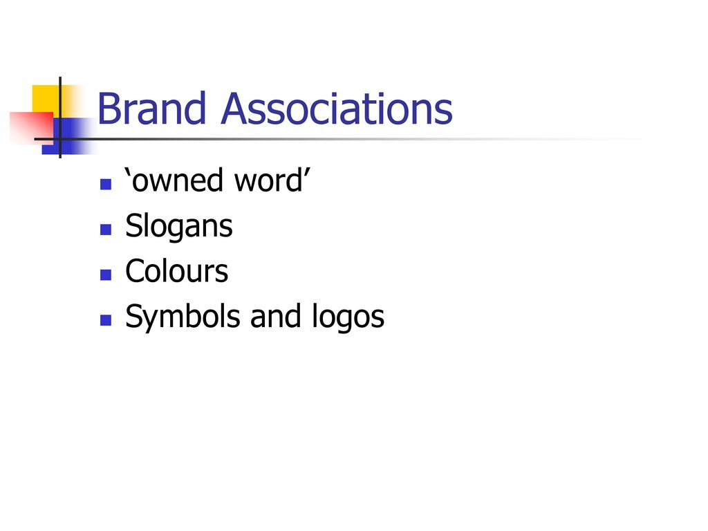 Brand management ppt download 20 brand associations owned word slogans colours symbols and logos buycottarizona