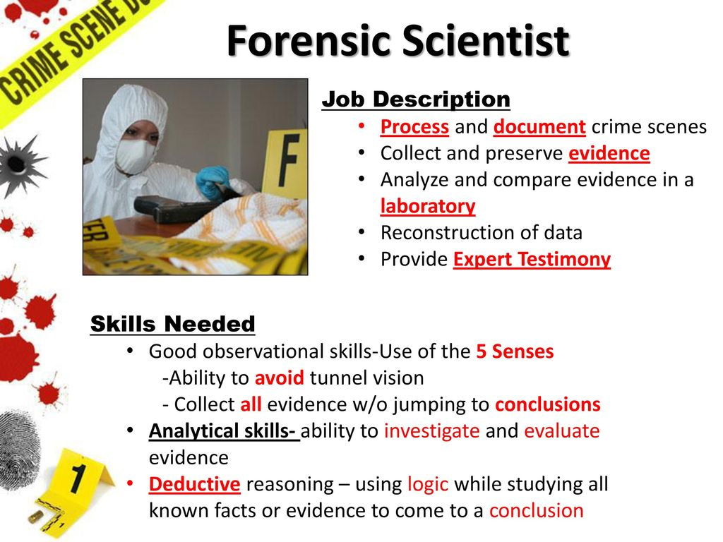 an analysis of the several forensic science branches If you are interested in the application of science to criminal investigations, a degree in forensic science is ideal the interdisciplinary degree explores the collection, analysis and interpretation of scientific evidence, in an integrated approach, with plenty of case studies.