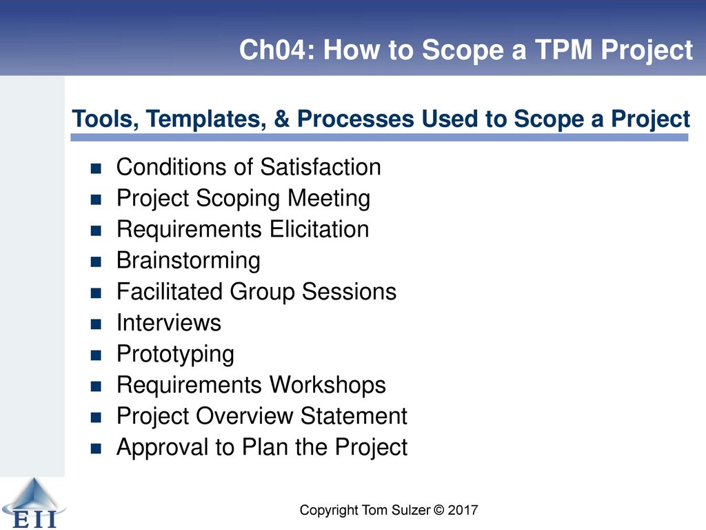 How to Write a Good Project Scope