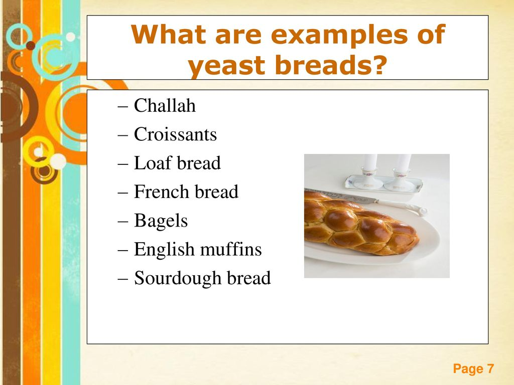 Breads free powerpoint templates ppt download what are examples of yeast breads toneelgroepblik Images