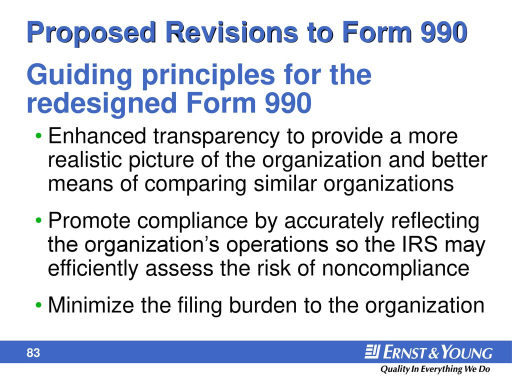 Form 990 and unrelated business income ppt download proposed revisions to form 990 falaconquin
