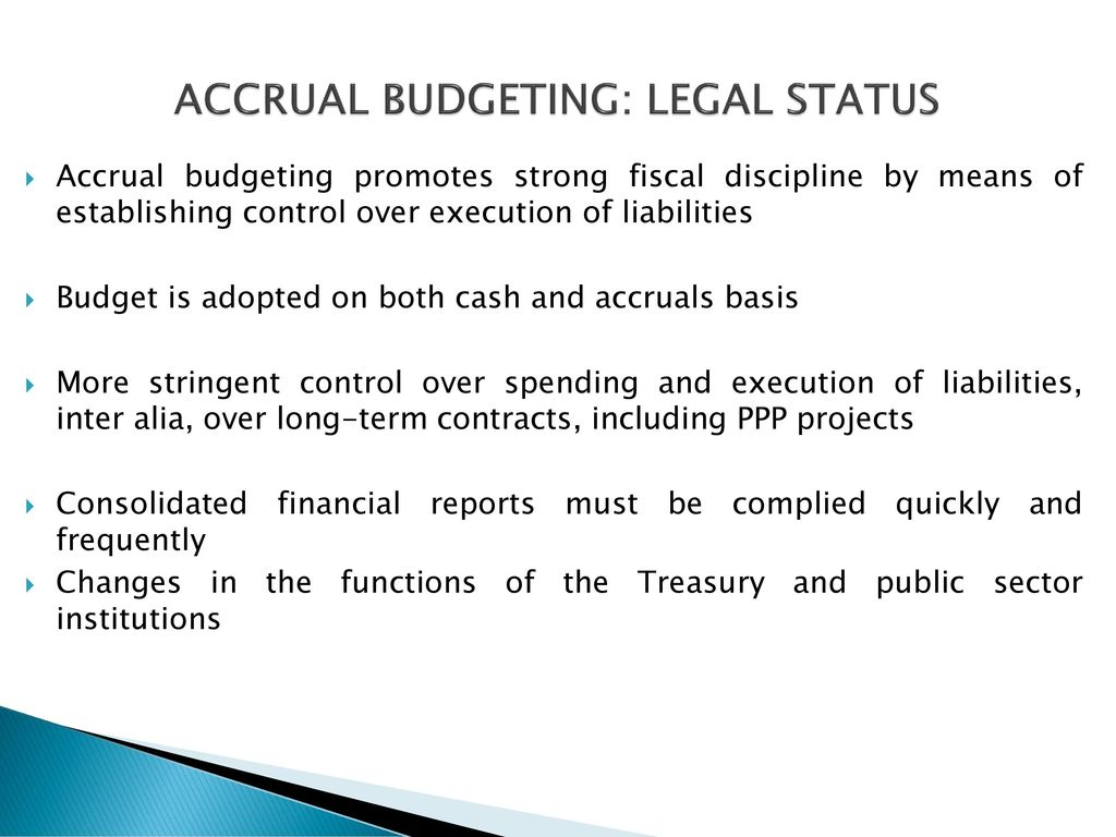 budgeting and budgetary control in the public sector Both the public and private enterprises use the budget and budgetary control system the private enterprise, which are profit oriented are aimed among others at maximum profit achievable which forms the core objectives of the financial aim of the enterprises.