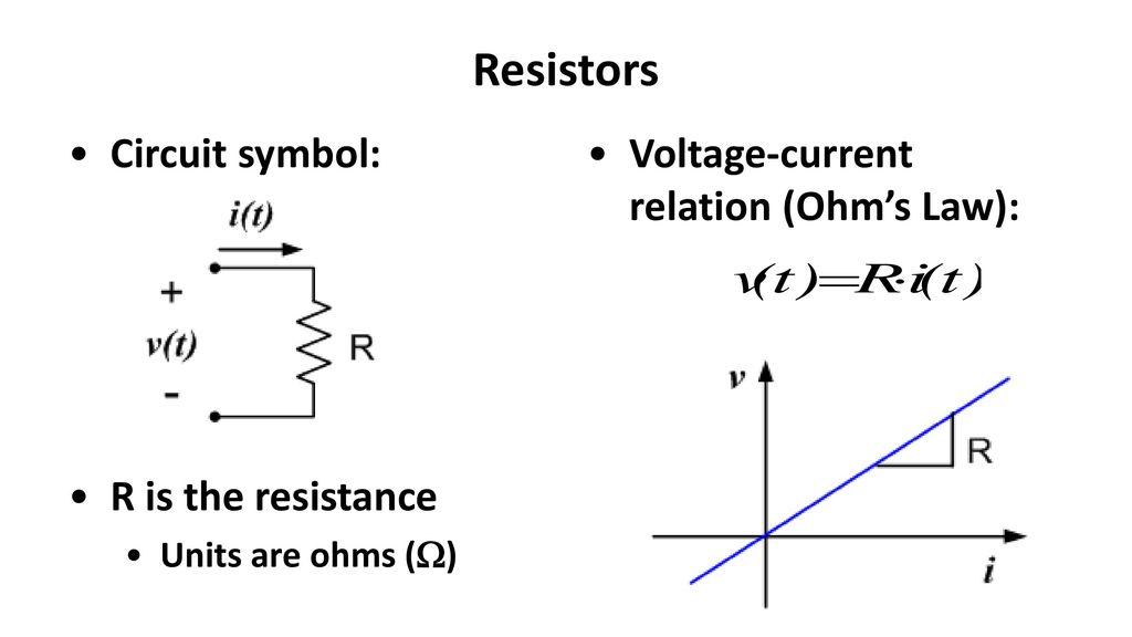Unique Electrical Resistance Symbol Photos - Electrical Circuit ...