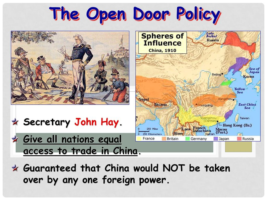 open door policy john hay. The Open Door Policy Secretary John Hay. Hay J