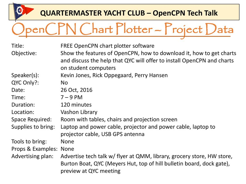 Opencpn chart plotter project data ppt download opencpn chart plotter project data nvjuhfo Choice Image