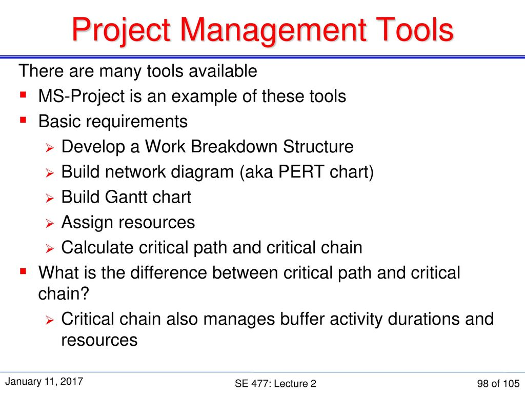 Se 477 software and systems project management ppt download 98 project management tools nvjuhfo Gallery