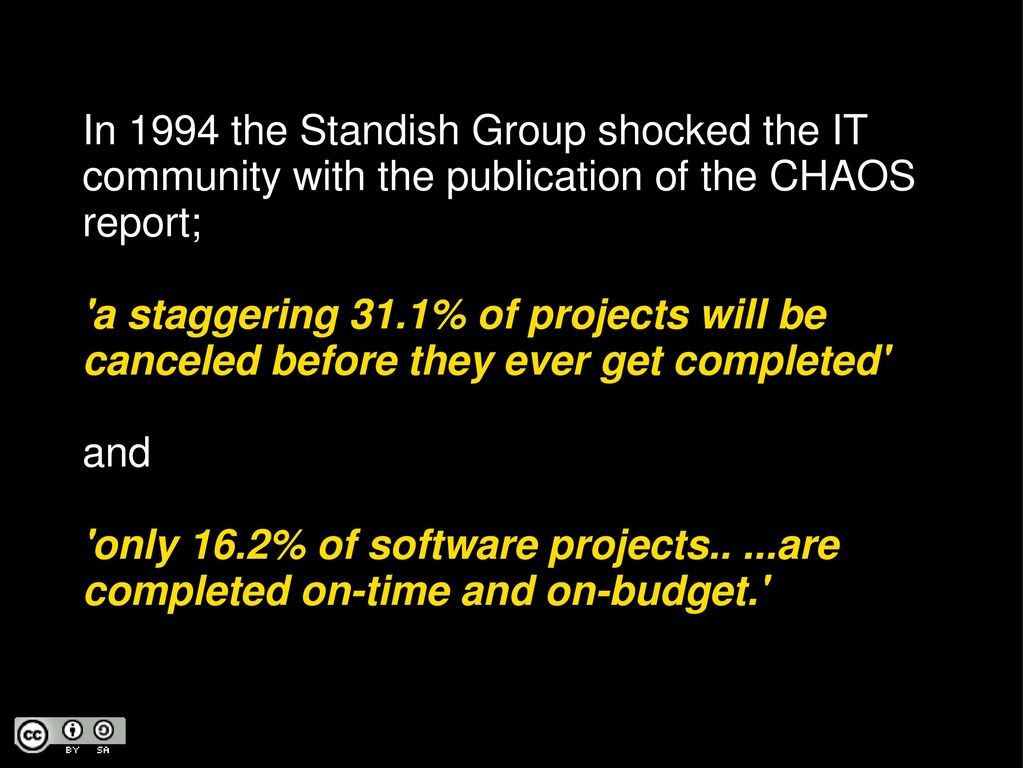 standish group chaos report 2017