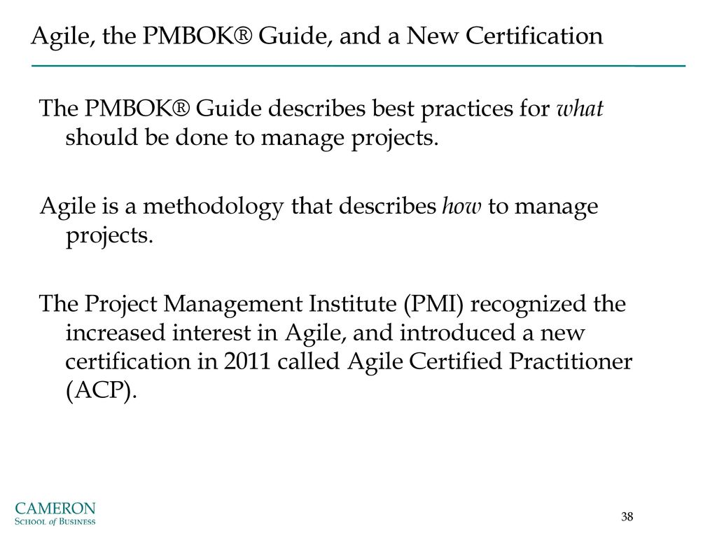 Agile project management ppt download agile the pmbok guide and a new certification 1betcityfo Gallery