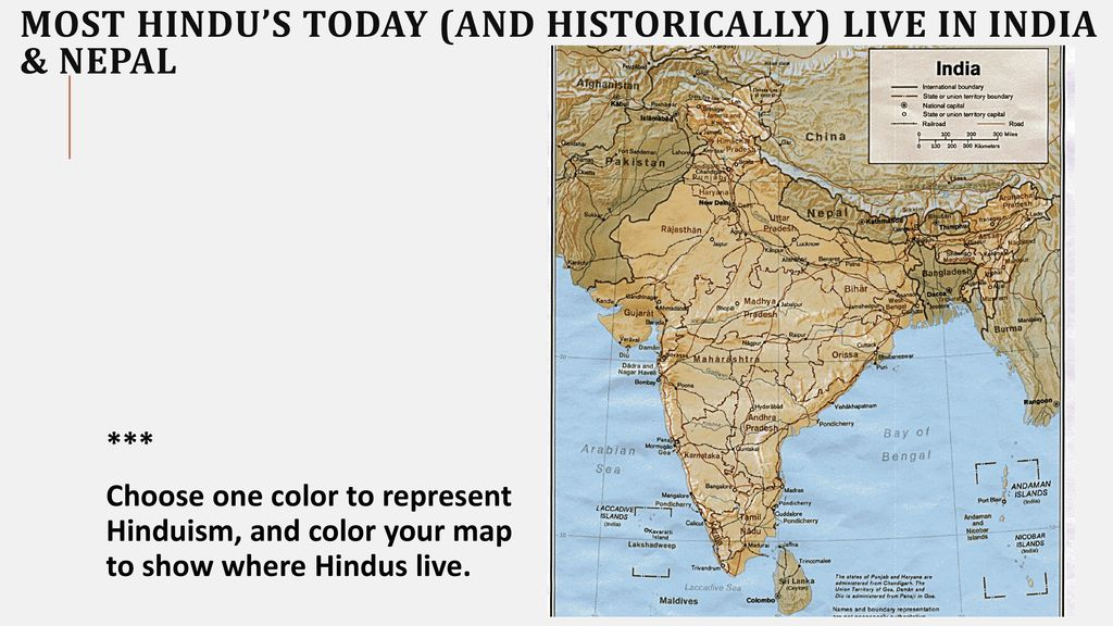 Religion In India Hinduism Islam Ppt Download - India religion map