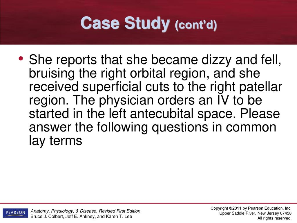 Großzügig Case Study Answers For Anatomy And Physiology Bilder ...