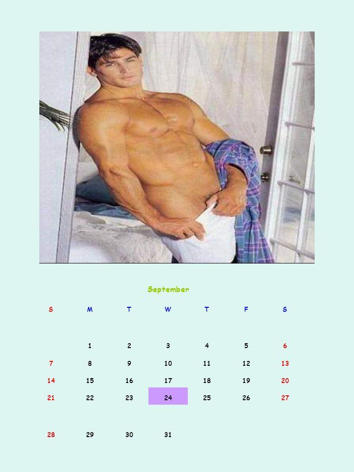 September S. M. T. W. F. 1. 2. 3. 4. 5. 6. 7. 8. 9. 10. 11. 12. 13. 14. 15. 16.