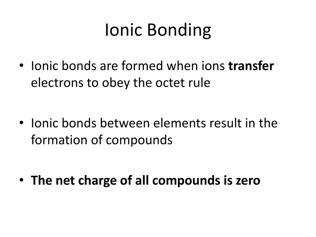 From Atoms to Compounds (Chapters 7-9) - ppt download